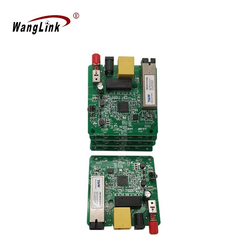 Wanglink EPON ONU Gigabit 1-port PCB Board ZTE Chipset, ONU EPON FTTH Terminal Equipment