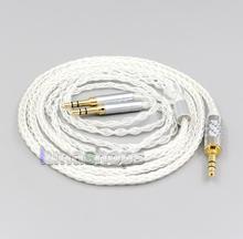 LN006567 2,5 мм 4,4 мм XLR Сделано в Китае 8 Core с серебряным покрытием OCC кабель для Hifiman Sundara Ананда HE1000se HE6se he400i he400se изображением Арьи