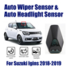 Sistema de Asistente de conducción de coche inteligente, Sensor de limpiaparabrisas automático y sensores de faros para Suzuki Ignis 2013 2019