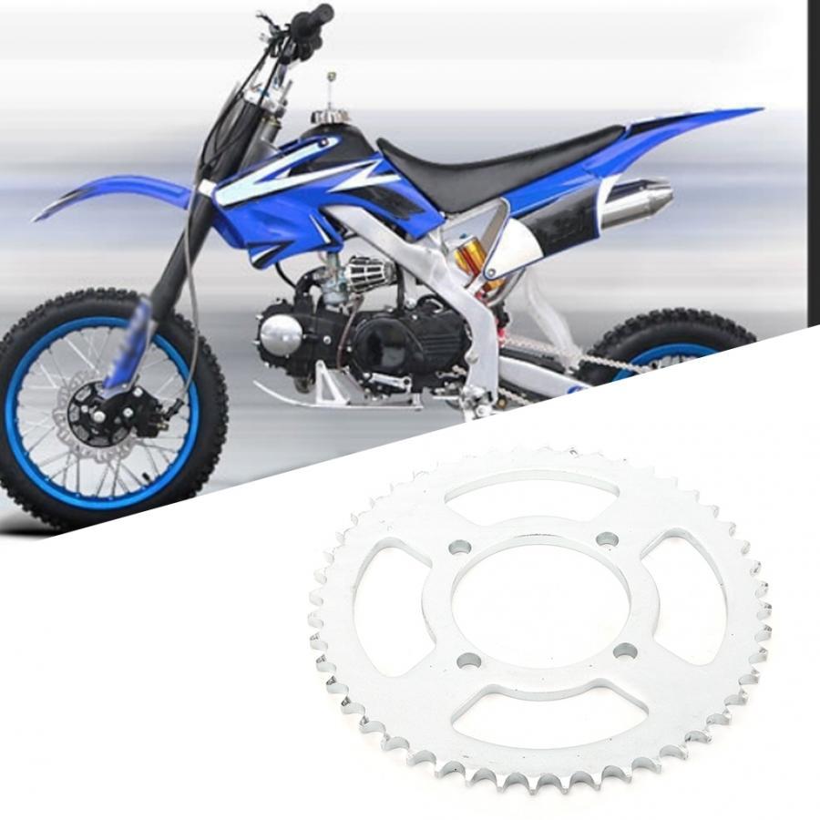 Sprocket Cog,48T Teeth 76mm 428 Chain Aluminum Alloy Rear Sprocket Cog Fit for 250cc Pit Trail Dirt Bike Motorcros