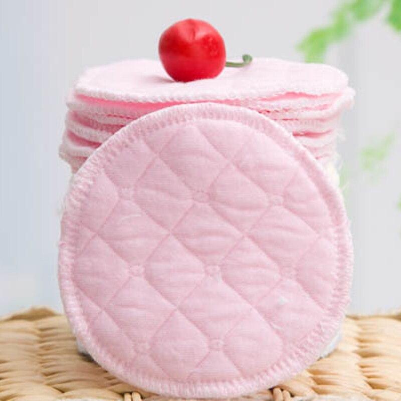 12 шт (6 пар) 3 слоя аксессуары из хлопка Pad Моющиеся грудного вскармливания Органические Детские Многоразовые прокладки для кормления