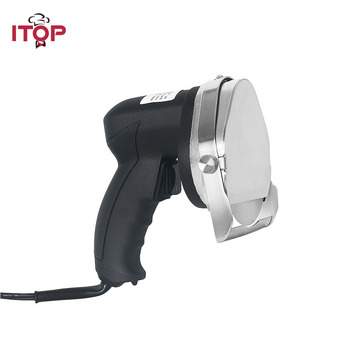 ITOP Electric Doner,Kebab Slicer For Shawarma Machine Stainless Steel Kitchen Knives Professional rotisserie Tools hot sales wireless kebab slicer with battery shawarma doner knife turkey electric gyros cutting meat food machine 110v 220v