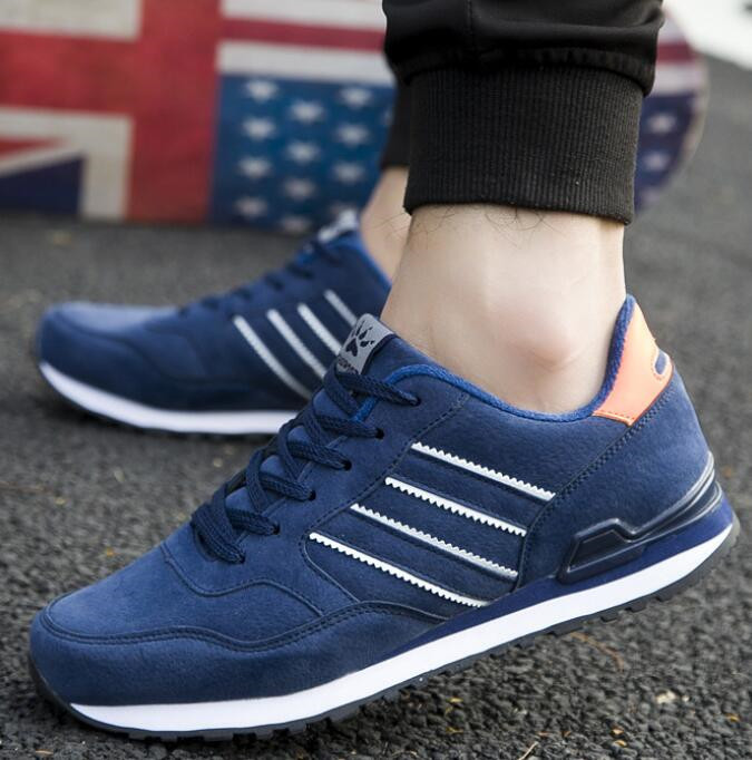 New men sneakers slow running comfortable lightweight casual wear non-slip design fashion shoes