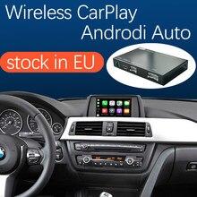 Sistema senza fili di Apple CarPlay Android Auto per BMW CIC 1 2 3 4 5 7 Serie X1 X3 X4 X5 x6 F10 F11 F07 F01 F02 E84 F25 F26 E70 E71