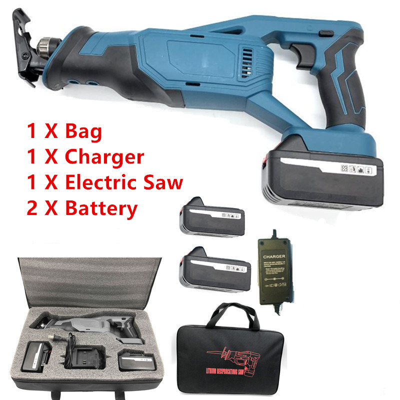 18V Electric Saw Machine Makita Battery Rechargeable Saber Saw Cordless Reciprocating Saw for Wood Metal Cutting Machine