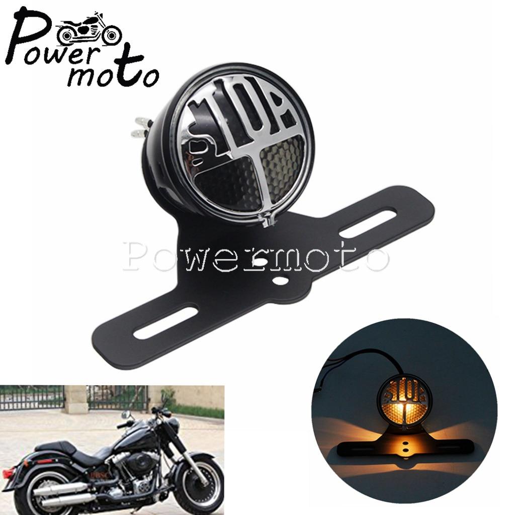 Brake-Stop-Lamp Choppers Harley Bobber Custom Motorcycle Led Rear for Bikes