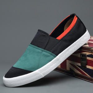 Shoes Spring Canvas Colorblock Autumn Korean-Version Casual Men's Fashion New And Board
