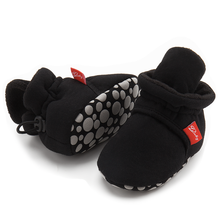 Newborn Shoes Warm-Socks Toddler Boots First-Walker Snow Soft-Sole Zapatos-Bebe Baby-Girls