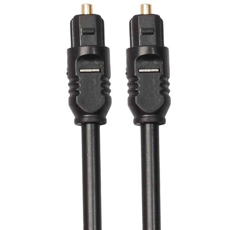 1m Fiber optik TOSLink dijital ses kablosu erkek erkek hafif ve esnek ile uyumlu S/PDIF, ADAT, Dolby dijital