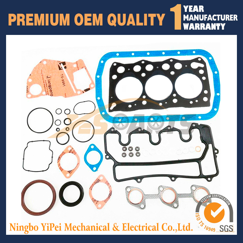 For Isuzu 3LD1 Engine Gasket Kit For IHI 35NX Furuwaka Hanix Excavator Denyo SDG12