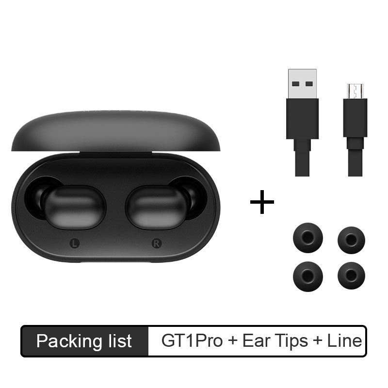 Haylou GT1 Pro Long Battery HD Stereo TWS Bluetooth Earphones, Touch Control  Wireless Headphones With Dual Mic Noise Isolation