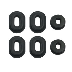 Motorcycle Rubber Side Cover Grommet Set For Honda CB CL SL XL 100 / CB CT SL TL XL 125 / CB 200 500 550 750 1971 - 1978 1977(China)