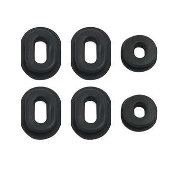 Motorcycle Rubber Side Cover Grommet Set For Honda CB CL SL XL 100 / CB CT SL TL XL 125 / CB 200 500 550 750 1971 - 1978 1977 image