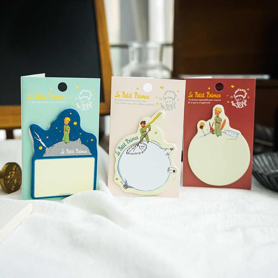 30 pièces dessin animé bloc-notes Kawaii autocollants Index autocollant Message créatif Note collante mignon papeterie fournitures scolaires