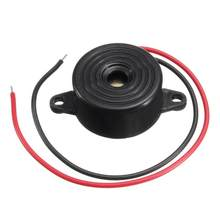 Acessórios do carro 1pc 95db alarme 3v-24v buzzer eletrônico bipe contínuo para piezoelétrico piezoelétrico som para o agregado familiar