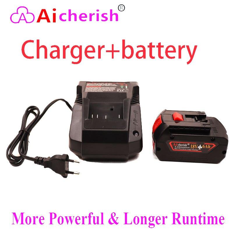 18650 bateria recarregável de lítio-íon 18v 6000mah