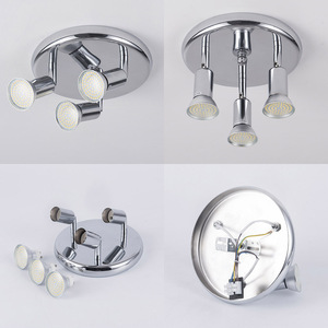 Image 3 - Surface mounted led Ceiling Spotlight 3 Lights rotatable Modern Decoration Lamps for living room bedroom kitchen home lighting