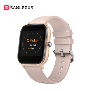 SANLEPUS Global Version Smart Watch IP67 Waterproof Smartwatch 2020 New Men Women Fitness Bracelet Band For Android Apple Xiaomi 11
