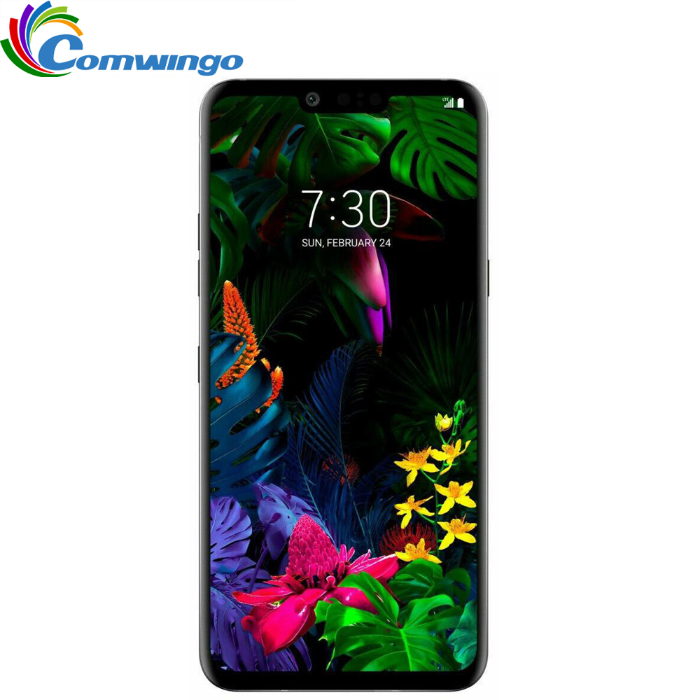 Original Unlocked LG G8 ThinQ G820N G820UM LTE Android Phone Snapdragon 855 Octa Core 6.1 6GB&128GB 16MP&12MP Fingerprint NFC image