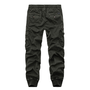 Image 5 - New 2019 Brand Casual Joggers Solid Breathable Pants Men Summer Army Military Style Trousers Mens Tactical Cargo Pants Male