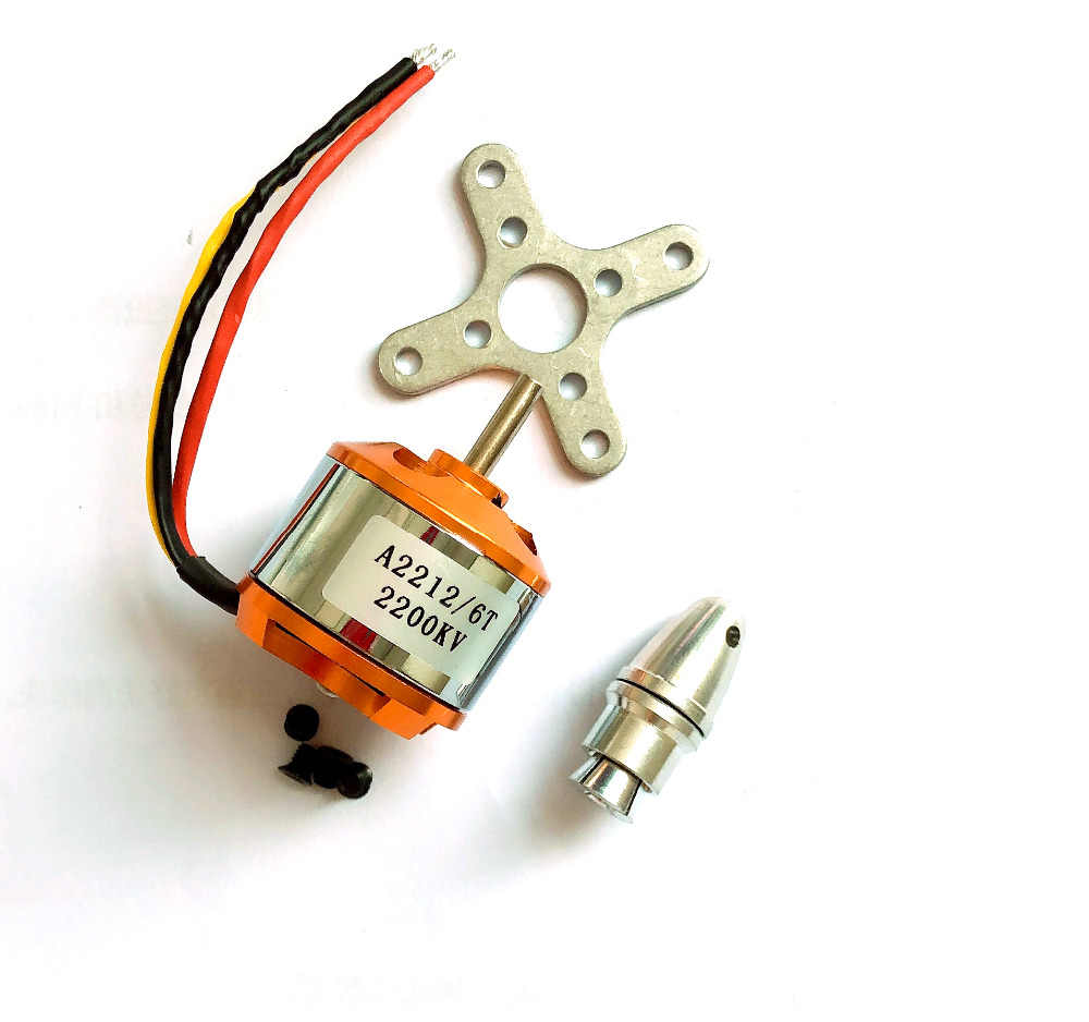 A2212 2200kv motor sem escova 30a esc motor 6035 hélice sg90 9g micro servo para rc avião asa fixa helicóptero