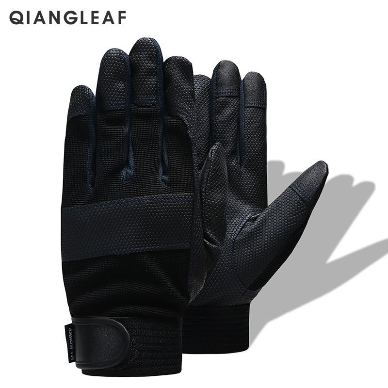 QIANGLEAF Brand Men's Garden Work Gloves Safety Protective Gloves Fashion Sport High Quality Drive Gloves 3052