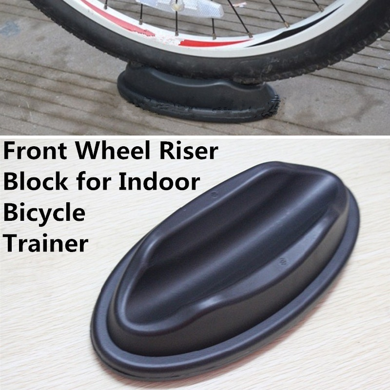 Bicycle Bike Front Wheel Support Underprop Block Riser For Turbo Trainer Train r