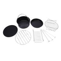 6-stück 7-zoll air friteuse zubehör Universell verfügbar für Philips Gowise Cozyna Beliebte küchengeräte für alle 3 7 QT-
