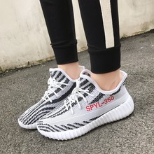 Spring Autumn Breathable Couple Running Shoes Not Easy Boost
