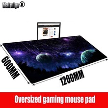MRGBEST Moon Space Custom 140x70/120X60CM Mouse Pad Mat Large Gamer Gaming Carpet Customized Mousepad for Computer Keyboard Desk