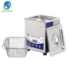 SKYMEN dijital 2L ultrasonik temizleyici Degas isıtma zamanlayıcı banyo 60W ultrason makinesi diş saatler gözlük paraları aracı parçası