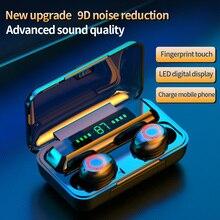 Bluetooth V5.0 Earphones Wireless Headphones With Microphone Sports Waterproof