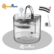 2L fuente de agua automática para gato con grifo dosificador de agua para perro bebederos transparentes para gatos bebedero para mascotas FILTRO DE cuenco alimentador