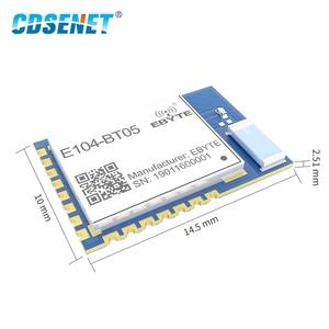 Image 3 - E104 BT05 TLSR8266 2.4GHz BLE4.2 UART وحدة إرسال واستقبال لاسلكية مصلحة الارصاد الجوية بلوتوث في القيادة الرقيق جهاز ريسيفر استقبال وإرسال