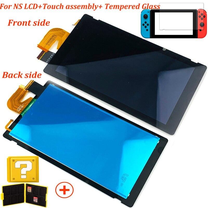Сменный сенсорный ЖК-экран, закаленное стекло для NS
