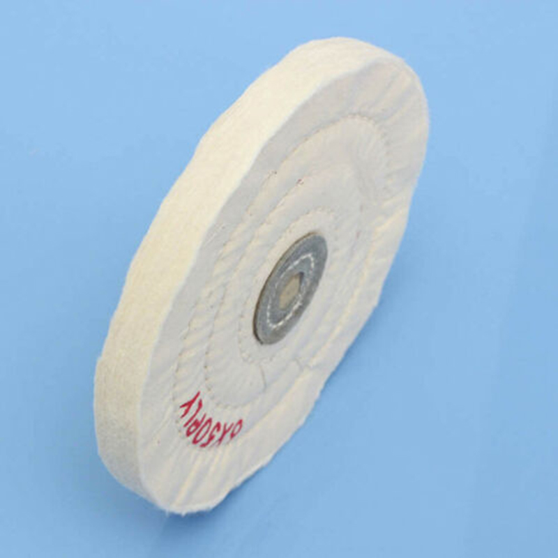 1PC 6Inch 150mm Cotton Grinding Polishing Wheel Bench Grinder Buffing Wheel Metal Surface For Rotary Abrasive Tools
