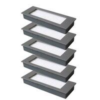 5 * filter + 6 * Seite Pinsel Für Ecovacs Deebot Ozmo 900 DN5G Staubsauger Teile|Reinigungsbürsten|   -
