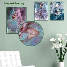 Diy diamante decoração pintura arte tinta beleza abstrato quadrado diamante redondo personalizável decoração da arte da parede