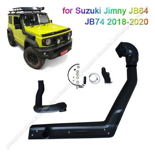 Car Wading Hose For Suzuki Jimny JB64 JB64W Jb74 JB74W 2018 2020 Intake Manifold High Intake Duct Air System Accessaries