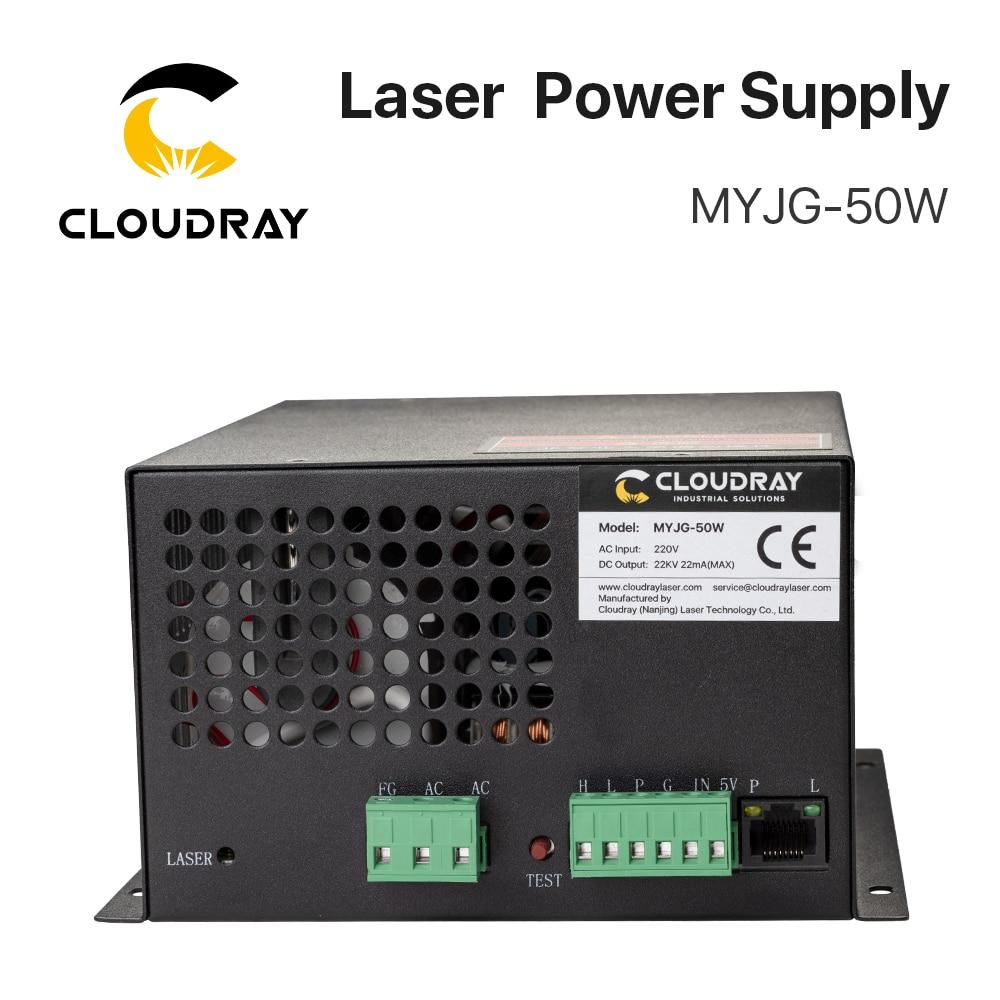 """""""Cloudray 50W CO2 lazerinis maitinimo šaltinis CO2 lazeriu - Medienos apdirbimo mašinų dalys - Nuotrauka 5"""