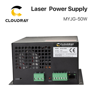 Image 5 - Cloudray 50W CO2 Laser Power Supply for CO2 Laser Engraving Cutting Machine MYJG 50W category