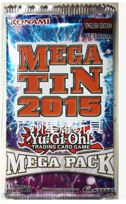 Yu Gi Oh  US And English MP15 Card Package Single Package European Version Spot