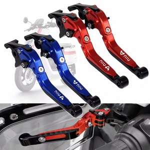 For NIU N1 N1S M1 U1 M+ NGT CNC Aluminum Motorcycle Accessories Folding Extendable Brake Clutch Lever Adjustable Extendable