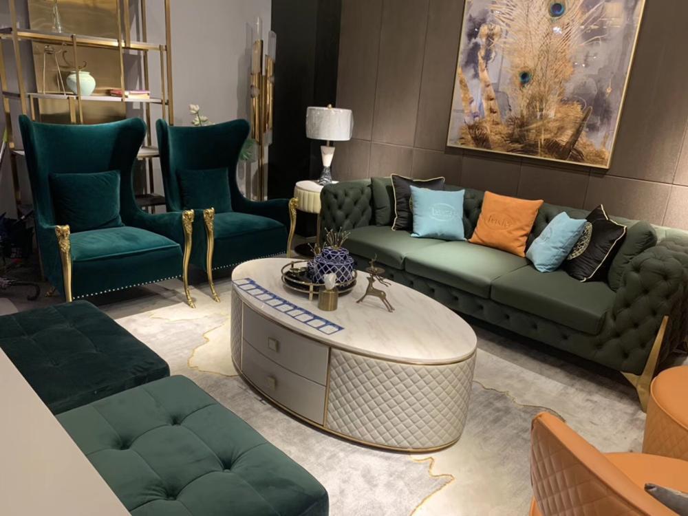Fabric Sofa Italy China Supplier Custom