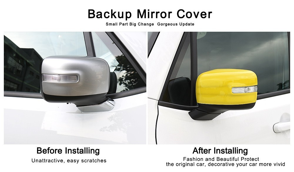 ABS Car Rearview Mirror Cover