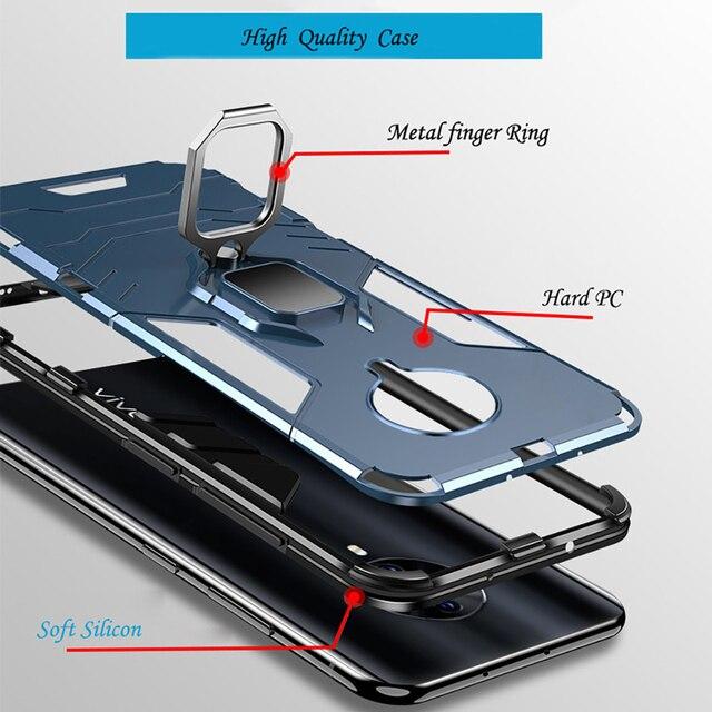 Capa Pour Vivo S6 Pour Vivo IQOO NeO 3 X30 Pro S5 Z6 Y19 Nex 3 Y93 Y95 Z5 Y97 Y17 Y89 Y85 Z3X Z5X Magnétique voiture support