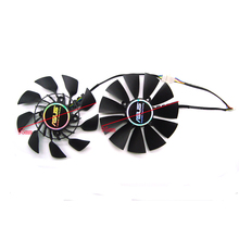Вентилятор охлаждения для видеокарты ASUS GTX780 GTX780TI R9 280 290 R9 280X 290X