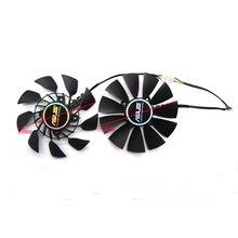 FIRSTD ventilador de refrigeración para tarjeta gráfica ventilador de refrigeración de tarjeta VGA de 12V DC para tarjeta gráfica ASUS GTX780 GTX780TI R9 280 R9 280X 290X, FD9015U12S EVERFLOW T129215SU