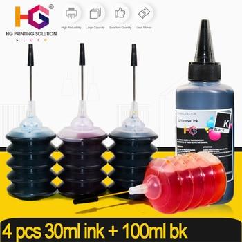 30ml para hp, cartucho de tinta, kit de recarga para HP 301, 304, 302, 123, 122, 652, 650 21 22 140, 141, 950, 655, 364, 903, 953 XL tinta Dye impresión
