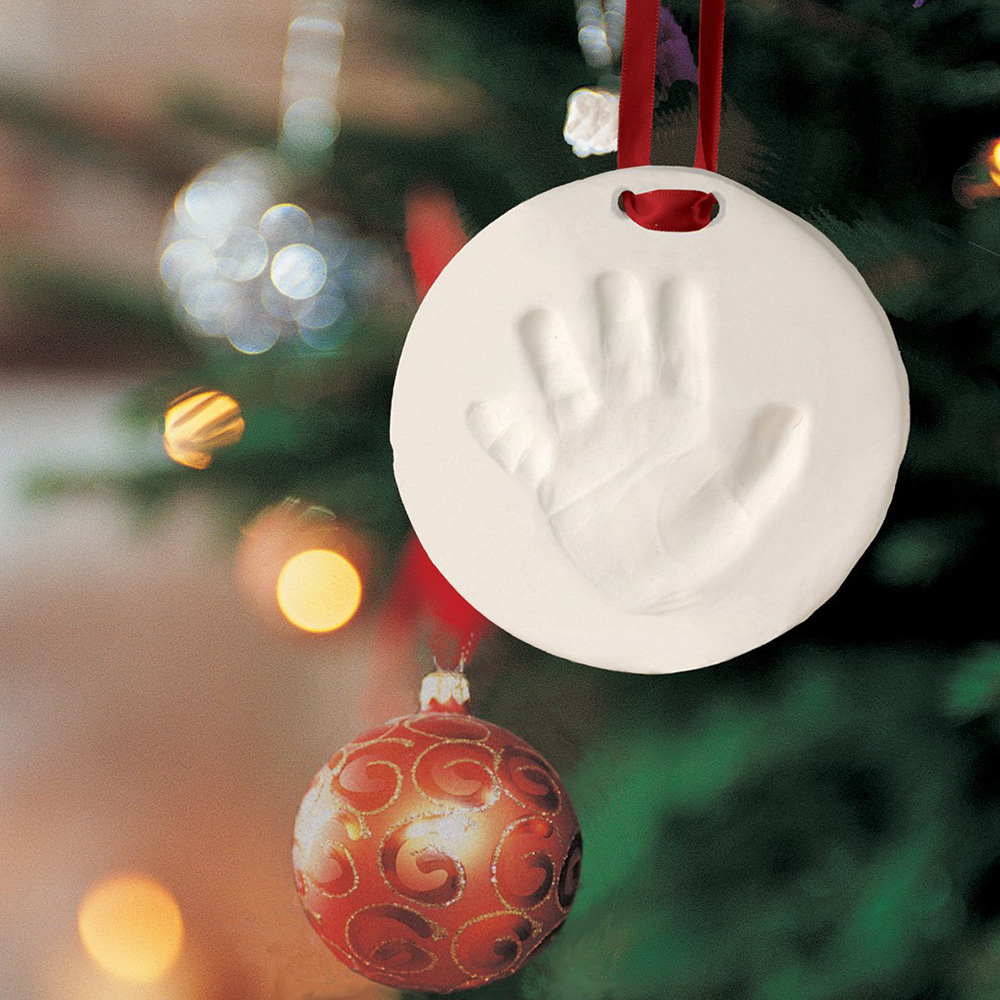 New Handprint Mud Baby Hand Foot Print Mold Inkpad Infant Hundred Days Imprint Gift Souvenir